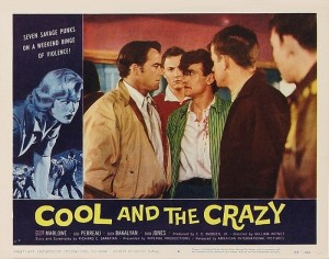 Cool and the Crazy (1958) Lobby Card_4