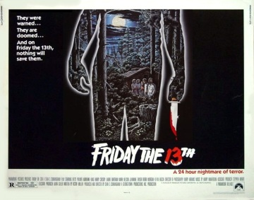 3_Friday the 13th (Half Sheet) 1980