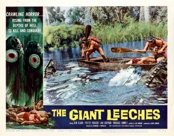 The Giant Leeches (Lobby Card_5) 1959
