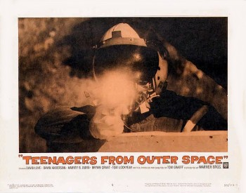 Teenagers from Outer Space (Lobby Card_1) 1959