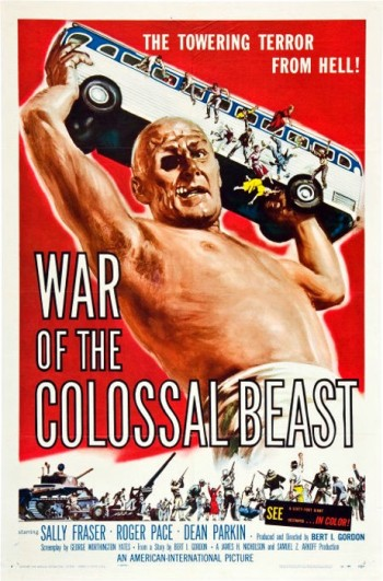 1_War of the Colossal Beast (One Sheet) 1958