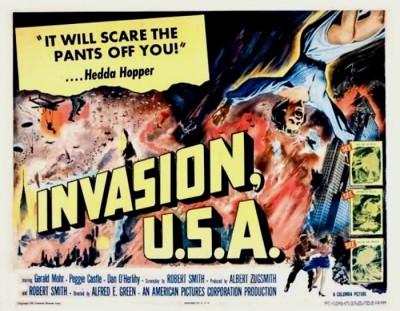 4_Invasion U.S.A. (Half Sheet) 1952