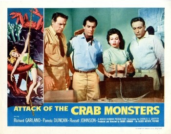 Attack of the Crab Monsters (Lobby Card 3) 1957