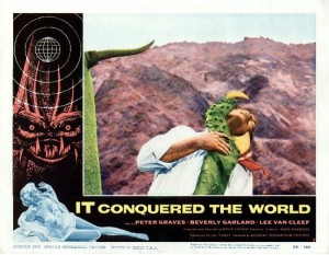 It Conquered the World (Lobby Card 7) 1956