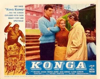Konga (Lobby Card_4) 1961