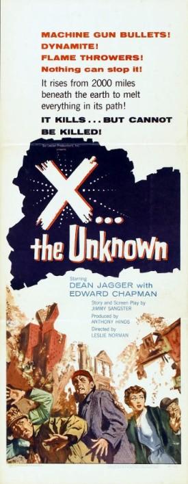 3_X the Uknown (Insert) 1957