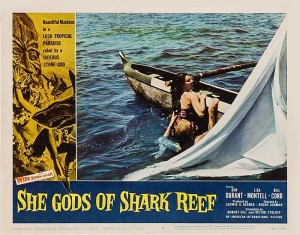 She Gods of Shark Reef (Lobby Card_4) 1958