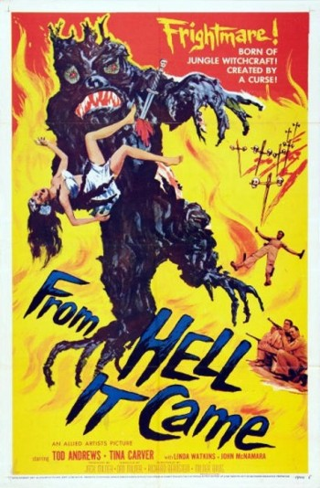 1_From Hell it Came (One Sheet) 1957