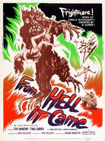 2_From Hell it Came (30x40) 1957