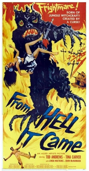 3_From Hell it Came (Three Sheet) 1957