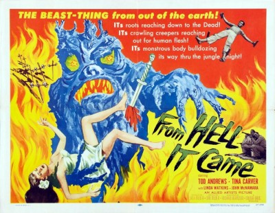 5_From Hell it Came (Half Sheet) 1957