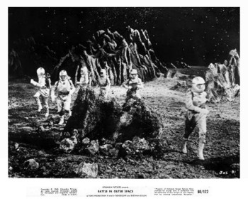 Battle in Outer Space (Production Still) 1960_51
