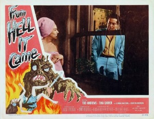 From Hell it Came (Lobby Card_1) 1957