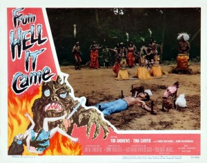 From Hell it Came (Lobby Card_2) 1957