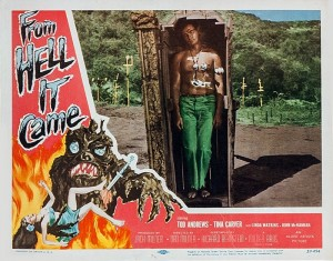 From Hell it Came (Lobby Card_3) 1957