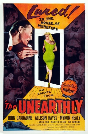 1_The Unearthly (One Sheet) 1957
