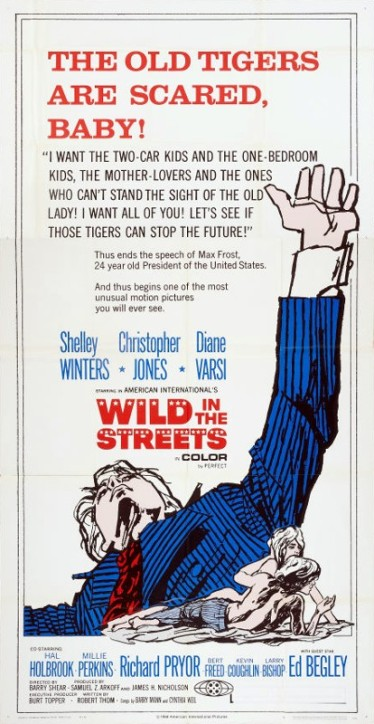 2_Wild in the Streets (Three Sheet) 1968
