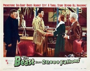 Beast from 20 Fathoms (Lobby Card) 1953_4