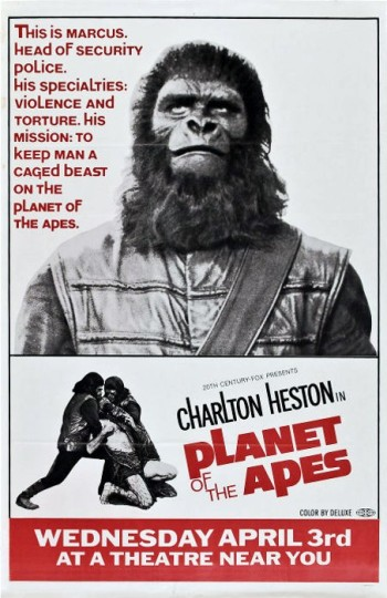 3_Planet of the Apes (Advanced One Sheet_Style C) 1968