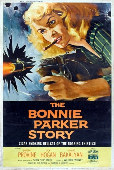 3_Bonnie Parker Story (40x60) 1958